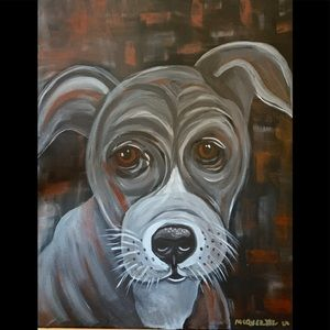Original painting signed by artist doggie